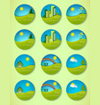 Icon of pure nature vector image