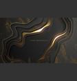 luxury gold background elegant black with gold vector image