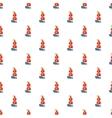 Ship of Columbus pattern cartoon style vector image vector image