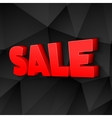 The Word Sale vector image vector image