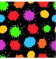 seamless background with bright blots vector image