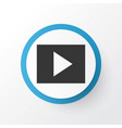 slideshow icon symbol premium quality isolated vector image