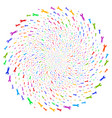 wrench spiral bang vector image