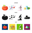 and sign set of and s vector image vector image