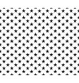 black white seamless pattern stars background vector image vector image