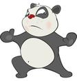 Cute Panda Cartoon Character vector image vector image