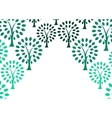 Decorative tree background vector image vector image