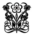 design element flourishes vector image vector image