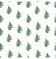 Fern leaves seamless pattern background