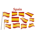 flag of Spain vector image vector image