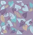 summer stylized pattern vector image vector image