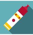 Syringe icon flat style vector image vector image