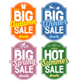 Seasonal sale vector image vector image