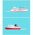 water transport traveling vehicles means vector image