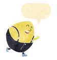 cartoon humpty dumpty egg character with speech vector image vector image