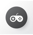 joystick icon symbol premium quality isolated vector image vector image