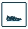 Man casual shoe icon vector image vector image