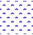 Pirate hat pattern cartoon style vector image