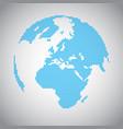 pixel earth vector image