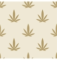 Marijuana background seamless pattern texture vector image