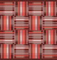 abstract geometric red seamless pattern square vector image vector image