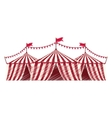 Circus tent festival vector image
