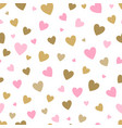 seamless pattern white background with pink and vector image vector image