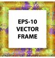 set of multicolored framework for registration vector image vector image