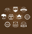 Adventure Bagdes Logos vector image