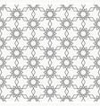 arabesque seamless pattern line art vector image vector image