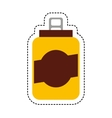 can beverage isolated icon vector image vector image