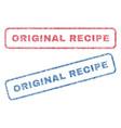 Original recipe textile stamps