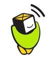 Sensor logo vector image vector image