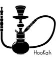 Hookah isolated on white background vector image vector image