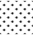 human eyeball pattern vector image vector image