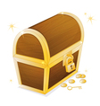 A jewellery box vector image