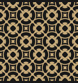 golden abstract pattern in arabian gold style vector image vector image