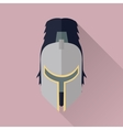 Helmet Headpiece Isolated Medieval Armour vector image vector image