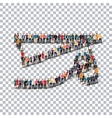 people sports planning vector image