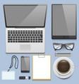 premium corporate identity template business vector image