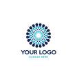 premium luxury flower logo design vector image vector image