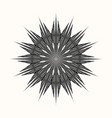 sacred geometry 0111 vector image vector image