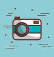 cute camera design vector image