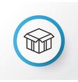 open box icon symbol premium quality isolated vector image