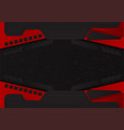 abstract black and red color background with copy vector image vector image