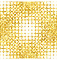 abstract geometric seamless pattern with gold vector image vector image