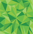 Abstract Green Triangle Geometrical Background vector image