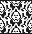 damask ikat seamless wallpaper pattern vector image vector image