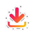 download icon upload button vector image vector image
