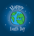 earth day eco friendly ecology concept world vector image vector image